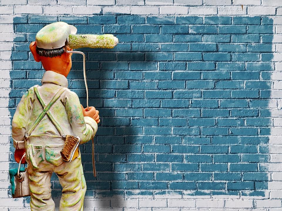 calories burned painting walls