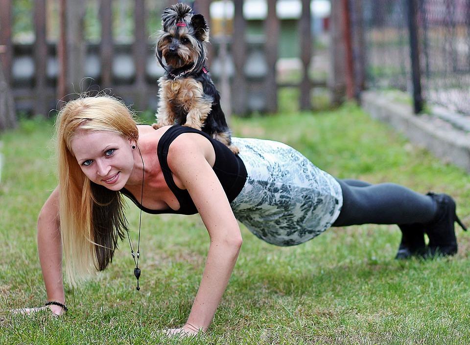 push-ups women