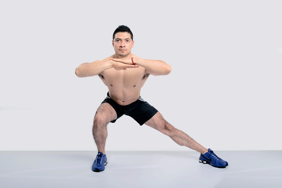lateral lunges calories
